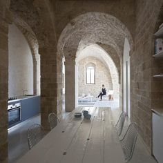 Jaffa apartment, Old Jaffa, Tel Aviv, Israel, Pitsou Kedem Architect