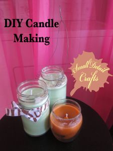 DIY Candle Making Tutorial. Yay for making these lovely scented things ourselves!