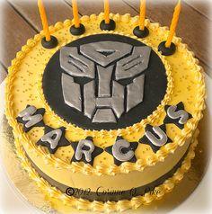 transformers bumblebee cake - Google Search