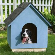 A site that has lots of dog house plans :)
