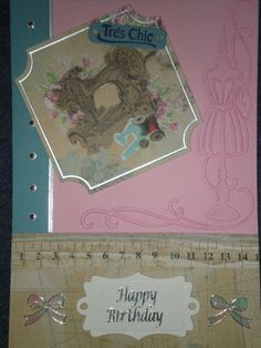 Margaret's birthday card