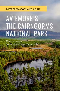 Looking for things to do in Aviemore and the Cairngorms? Here's how to get outside and explore the lochs, glens, and Munros of the Cairngorms National Park. Congaree National Park, Cairngorms National Park, Crater Lake National Park, Canyonlands National Park, Capitol Reef National Park, Death Valley National Park, Yosemite National Park, National Parks Map, National Park Posters