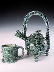 Saltglaze stoneware, Jon Faulkner Pottery New work 2012