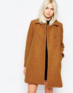 Bild 1 von Monki – Schwingender Mantel im Stil der 60er Jahre