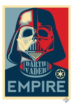 Darth Vader EMPIRE Poster by ~bL00df0x on deviantART