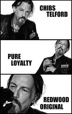 30 Days of SOA- Day 2:  Favorite Sons Character-  Chibs.  He is loyal, has a heart of gold, and is a complete badass.
