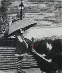 Valentine Day (Feb 14 2013) - Sketching by Ugen Maharjan in My Sketch :)  at touchtalent 54760