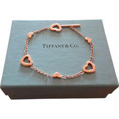 18K Tiffany Toggle Bracelet