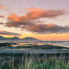 One of the most beautiful sunsets we've ever seen along our walk through Kaikoura.