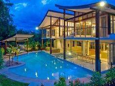 Joint winner New Homes between 351sq m and 450sq m as well as outright winner for Best use of Engineered Timber Product and Best Pool or Water Feature at the Building Designers Association of Queensland Awards Chris van Dyke's design for this Port Douglas mansion at Lot 11, Beachfront Mirage. A holiday home that lends itself well to tropical resort-style living, the design incorporates Asian influences with European finishes.