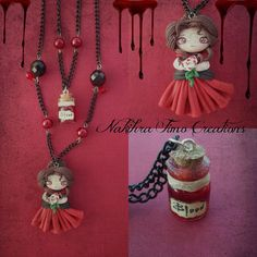 Vampire with Bottled Blood Polimer Clay | Flickr - Photo Sharing!