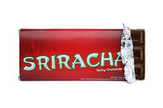 Chilis and chocolate are uncommon bedfellows but Sriracha has a way of somehow going with everything, right? In this case, it's blended in with 57% dark chocolate to create a spicy, American-made chocolate bar that's got some serious snap to it.