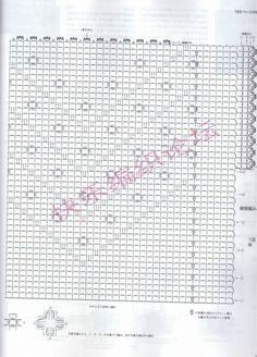 Sidney Craft: A Different bluzka z grafiką . Crochet Books, Crochet Yarn, Crochet Top, Filet Crochet, Irish Crochet, Crochet Woman, Crochet Clothes, Crochet Dresses, Charts