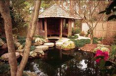 Massee Lane Gardens - Japanese Tea House ~ Beautiful place to photograph.