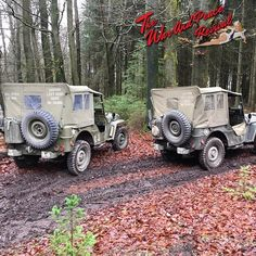 WW2 Jeeps- Read the full article in The War and Peace Revival Magazine. http://ift.tt/1JNynCR #WarandPeace #Vintage #Lifestyle #WW2 #Jeeps #History #RoadRun #Military #Militaria #Ford #WillysJeep