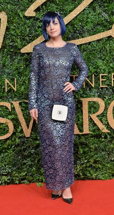 Pin for Later: There Was Not 1 Wrong Look at the British Fashion Awards Lily Allen Lily Allen wore Chanel.