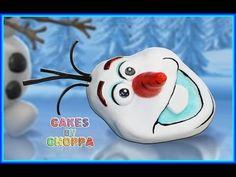 ▶ Olaf - Disney's FROZEN Cake (How To) - YouTube