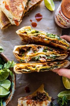 La Trattoria, Good Food, Yummy Food, Tasty, Homemade Crunchwrap Supreme, Half Baked Harvest, Mexican Food Recipes, Mexican Dishes, Sandwiches