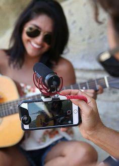 An Olloclip Studio microphone mount turns your phone into a recording studio.