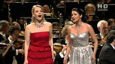 Anna Netrebko & Elina Garanča (Flower Duet - Lakmé de Delibes)  Anna Netrebko (soprano).  Elina Garanca (mezzo-soprano).  Baden-Baden Opera Gala 2007.