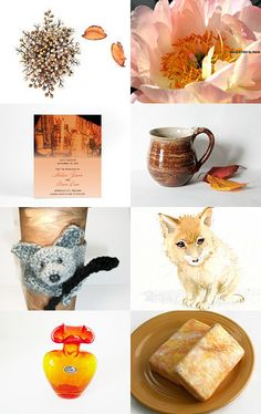 SHADES of WARMTH by Janet Long on Etsy--Pinned with TreasuryPin.com