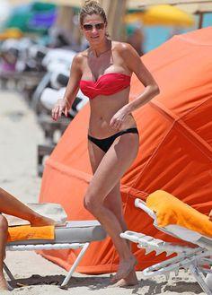 Erin Andrews Boobs -- Too Good to Be True? Red Bikini, Bikini Babes, Erin Andrews Bikini, Summer Girls, Celebrity Bikini, Beach Pool, Dancing With The Stars, Bikini Photos