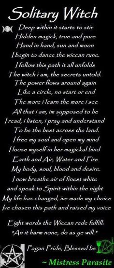 ✯ Solitary Witch ✯