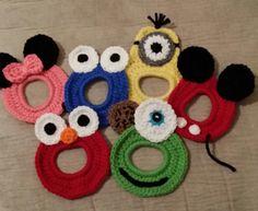 Crochet Camera Buddies Set by AshleesCrochet on Etsy, $14.00