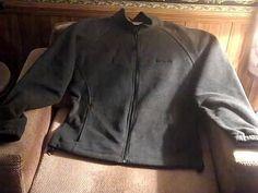 COLUMBIA SPORTSWEAR Womens Gray XL Fleece Coat Jacket #Columbia #BasicCoat
