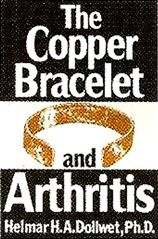 #Copper is an essential element for the enzyme that regenerates the cartilage lining our bones and to clean up the radicals destructive to human tissues. - Excerpt from the book: The Copper Bracelet and Arthritis by Dr. Helmar H. A. Dollwet, Professor of Biology, University of Akron, Ohio, USA.  #copper365 #sergiolub #thecopperbracelet