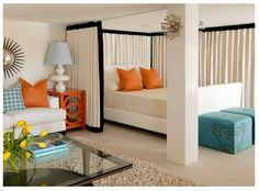 10 Room Divider Ideas For Your Home   Studio apartment, Apartments ...