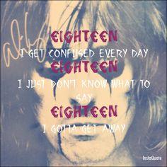 Alice Cooper - Eighteen  whatta great song