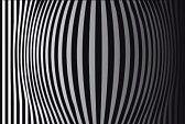 optique art : Op Art initium bandes verticales noir et blanc un Illustration