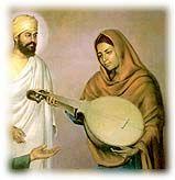 Bibi Nanaki- Bibi Nanaki was the first person to recognize Guru Nanak as a prophet and missionary early in his life. Bibi Nanaki (Guru Nanak's sister) and Mata Tripta (Guru Nanak's mother) played very important roles in encouraging young Nanak to persue his lifelong mission.