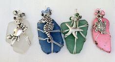 pendants.jpg  wire-wrapped Sea Glass pendants