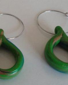 "Ohrringe ""Luna&Toffee"" Ohrschmuck – Jasmin´s Accessoires Toffee, Headphones, Ear Jewelry, Ear Piercings, Sticky Toffee, Candy, Headpieces, Ear Phones"