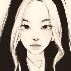 Japanese Drawings, Art Drawings Sketches Simple, Aesthetic Drawing, Aesthetic Art, Arte Sketchbook, Funky Art, Korean Art, Digital Art Tutorial, Realism Art