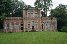 Pavillon Louis XIII au château de Gerbéviller.Lorraine