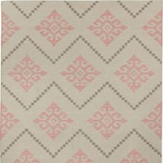 Capel Rugs Flakes Peony Woven Wool Rug CA3629530
