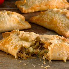 Try this delicious recipe for two cheese and onion pasty - made with Jus-Rol's shortcrust pastry, this easy pasty is a guaranteed family favourite.