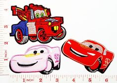Disney Cars kid patch Jacket Polo T- shirt DIY Applique Embroidered Sew Iron on patch >>> Learn more by visiting the image link.
