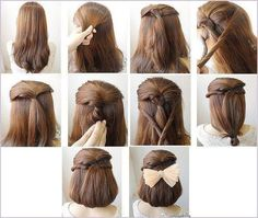 Easy, So-Pretty Hairstyles You Can Do in Under 5 Minutes: Here are our favorite fast hairstyles for short hair, long hair, and everything in between. Fast & Easy Hairstyle For When You're Running Late Fast Easy Hairstyles, 5 Minute Hairstyles, Loose Hairstyles, Pretty Hairstyles, Hair Color 2018, Latest Hair Color, Hair 2018, Medium Hair Styles, Long Hair Styles