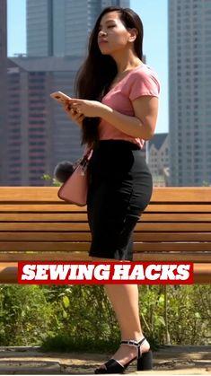 Sewing Basics, Sewing Hacks, Sewing Tutorials, Sewing Crafts, Sewing Projects, Sewing Patterns, Sewing Kit, Diy Clothes Life Hacks, Clothing Hacks