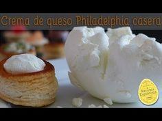 Crema de Queso Philadelphia Casera - Super fácil - YouTube