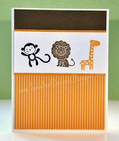 Fox  Friends is one of the retiring Stampin' Up! stamp sets on 5-31-12. Don't miss out!