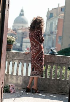 """Behind the scenes: Elisa Sednaoui in Vogue Italia's """"The Painting"""" wearing… Elisa Sednaoui, Edgy Bohemian, Boho Fashion, Fashion Outfits, Dress For Success, Fashion Pictures, Bellisima, Behind The Scenes, Muse"""