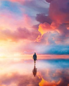 🌈 Have you ever seen a beach made of rainbows? Nature Pictures, Beautiful Pictures, Amazing Photography, Nature Photography, Rainbow Palette, Fantasy Landscape, Art Challenge, New Art, Like4like