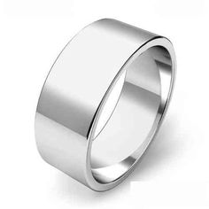 925 Sterling Silver Womens Mens 6mm Traditional Court Wedding Band Ring M-Z Size
