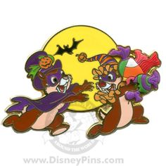 Trick or Treat - Chip and Dale | Disney Pin