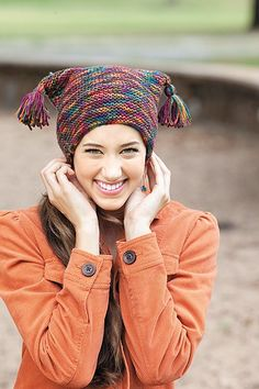 Urban Hats - For a hat that says you're cool, use the hot new Knook to make one of these urban styles from Lisa Gentry. The Knook is a specialized crochet hook that creates true knitted fabric, while the attached cord completely prevents dropped stitches! It's great for beginners or anyone who would like to learn to knit the easy way. Clear instructions on the basic technique are provided for both right-hand and left-hand stitching, while photos illustrate each step.  Each of the 7 hats is…